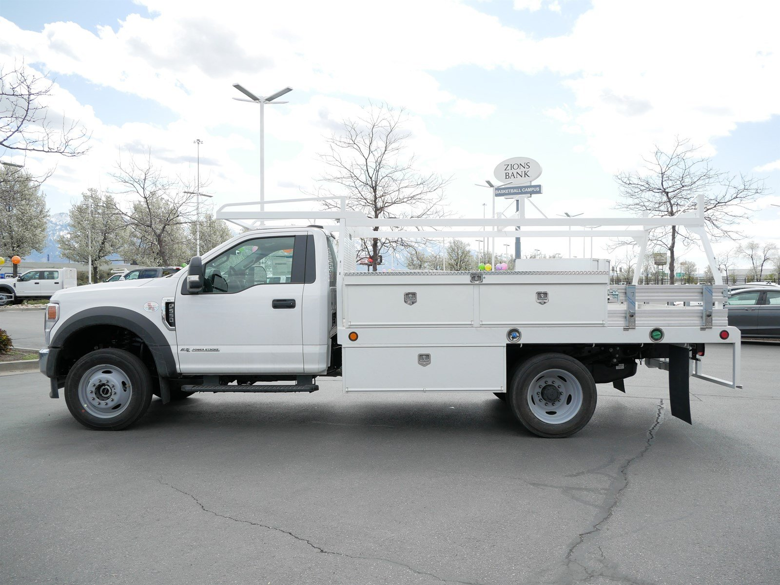 2020 Ford F-550 Regular Cab DRW 4x4, Scelzi CTFB Contractor Body #63090 - photo 11