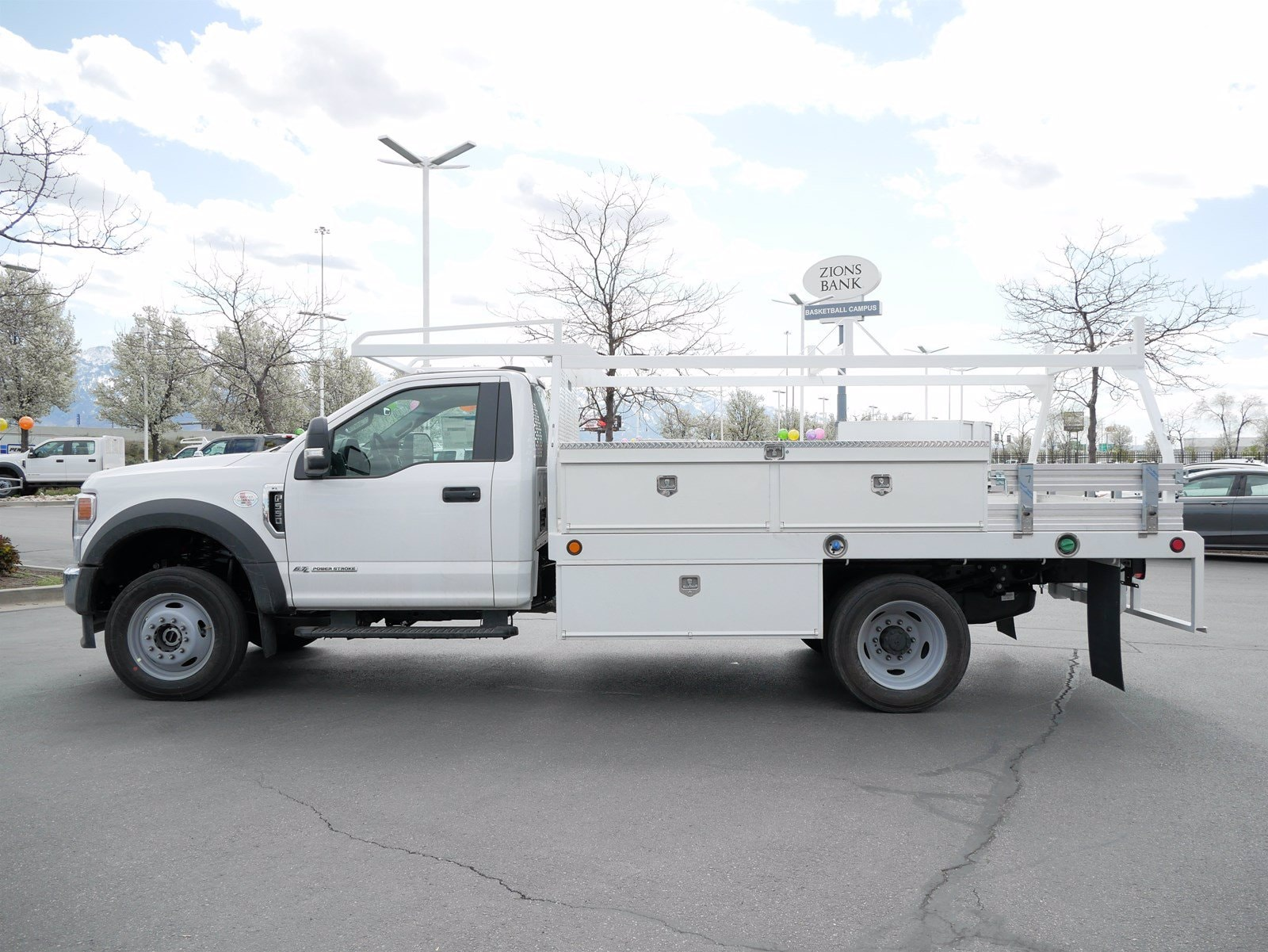 2020 Ford F-550 Regular Cab DRW 4x4, Scelzi CTFB Contractor Body #63090 - photo 6