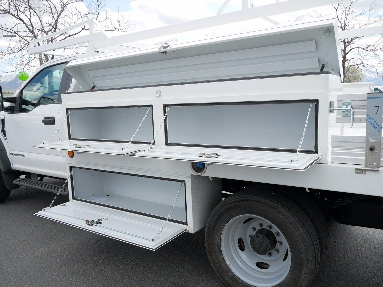 2020 Ford F-550 Regular Cab DRW 4x4, Scelzi CTFB Contractor Body #63090 - photo 22