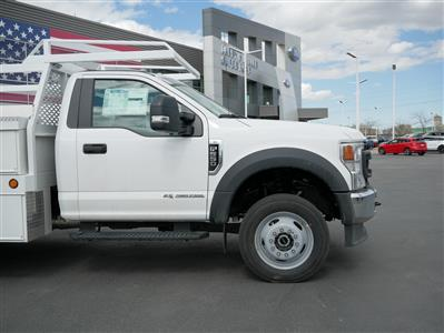2020 Ford F-550 Regular Cab DRW 4x4, Scelzi CTFB Contractor Body #63090 - photo 14