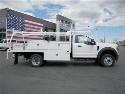 2020 Ford F-550 Regular Cab DRW 4x4, Scelzi CTFB Contractor Body #63090 - photo 4