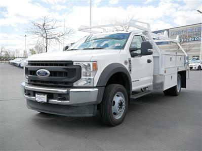 2020 Ford F-550 Regular Cab DRW 4x4, Scelzi CTFB Contractor Body #63090 - photo 12