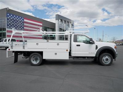 2020 Ford F-550 Regular Cab DRW 4x4, Scelzi CTFB Contractor Body #63090 - photo 4