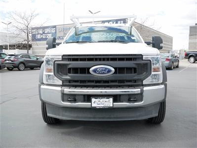 2020 Ford F-550 Regular Cab DRW 4x4, Scelzi CTFB Contractor Body #63090 - photo 10