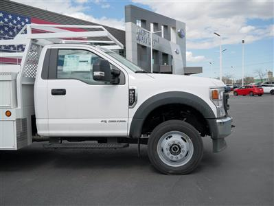2020 Ford F-550 Regular Cab DRW 4x4, Scelzi CTFB Contractor Body #63090 - photo 9
