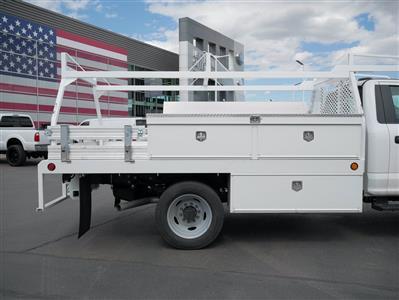 2020 Ford F-550 Regular Cab DRW 4x4, Scelzi CTFB Contractor Body #63090 - photo 12