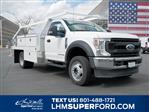 2020 Ford F-550 Regular Cab DRW 4x4, Scelzi CTFB Contractor Body #63090 - photo 1