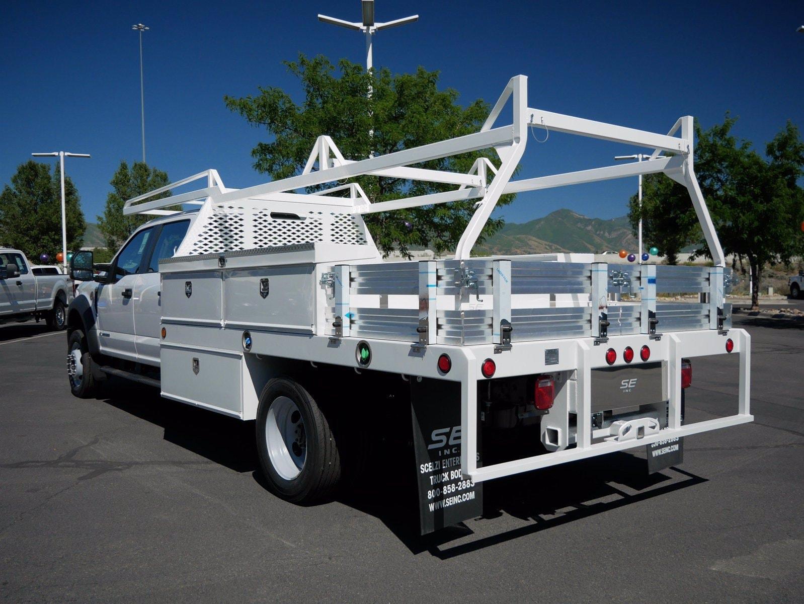 2020 Ford F-550 Crew Cab DRW 4x4, Scelzi CTFB Contractor Body #63112 - photo 7