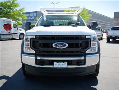 2020 Ford F-550 Crew Cab DRW 4x4, Scelzi CTFB Contractor Body #63112 - photo 10