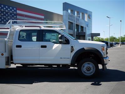 2020 Ford F-550 Crew Cab DRW 4x4, Scelzi CTFB Contractor Body #63112 - photo 9