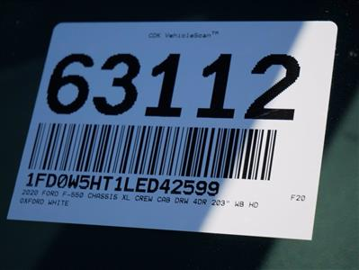 2020 Ford F-550 Crew Cab DRW 4x4, Scelzi CTFB Contractor Body #63112 - photo 40
