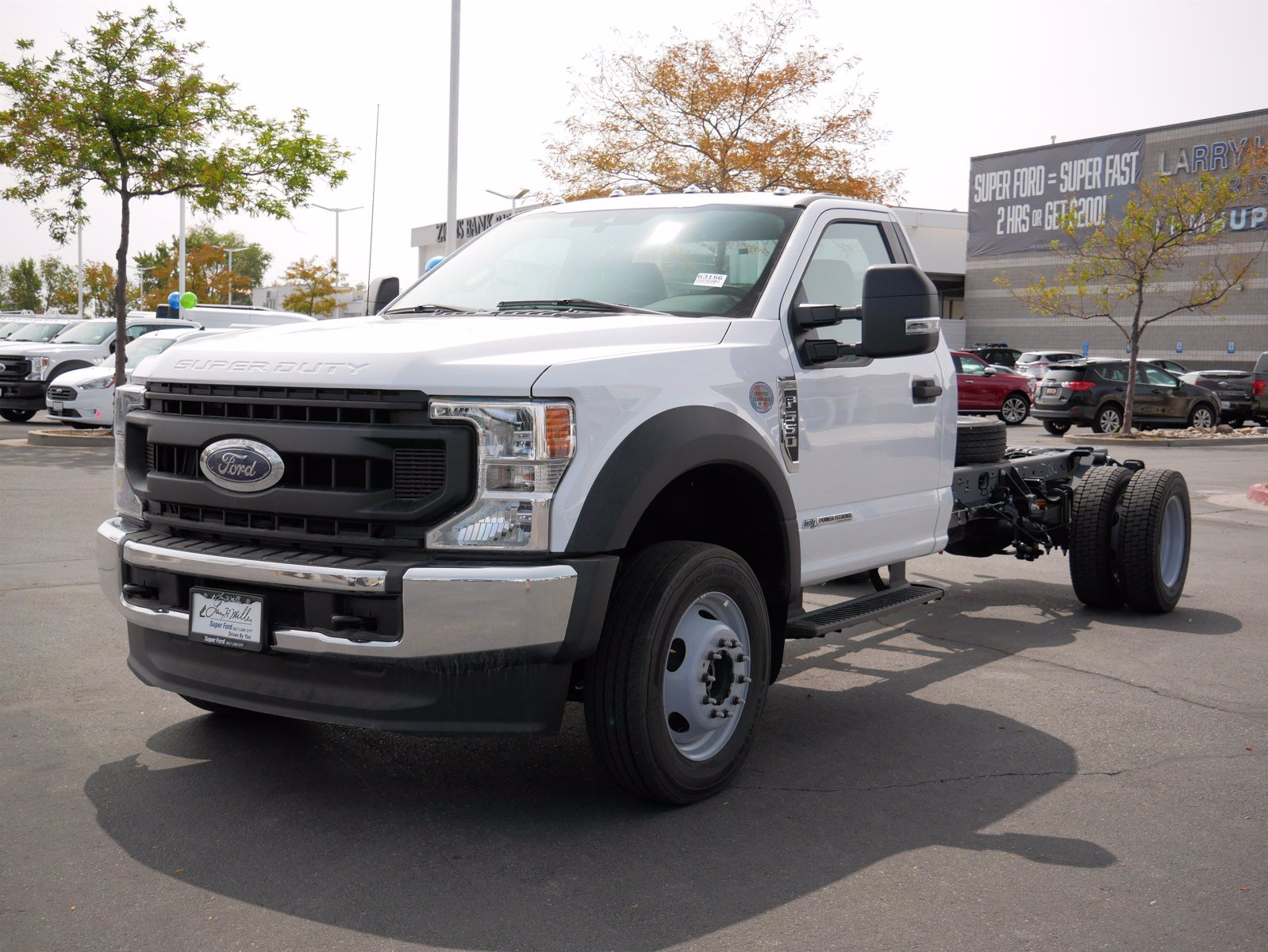 2020 Ford F-550 Regular Cab DRW 4x4, Cab Chassis #63156 - photo 9