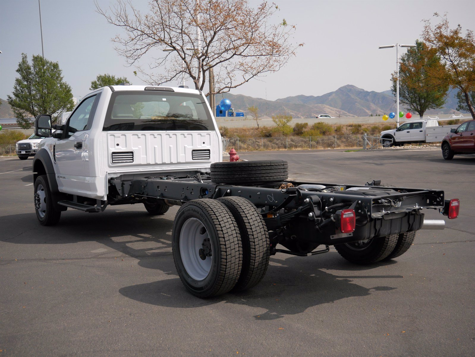 2020 Ford F-550 Regular Cab DRW 4x4, Cab Chassis #63156 - photo 7
