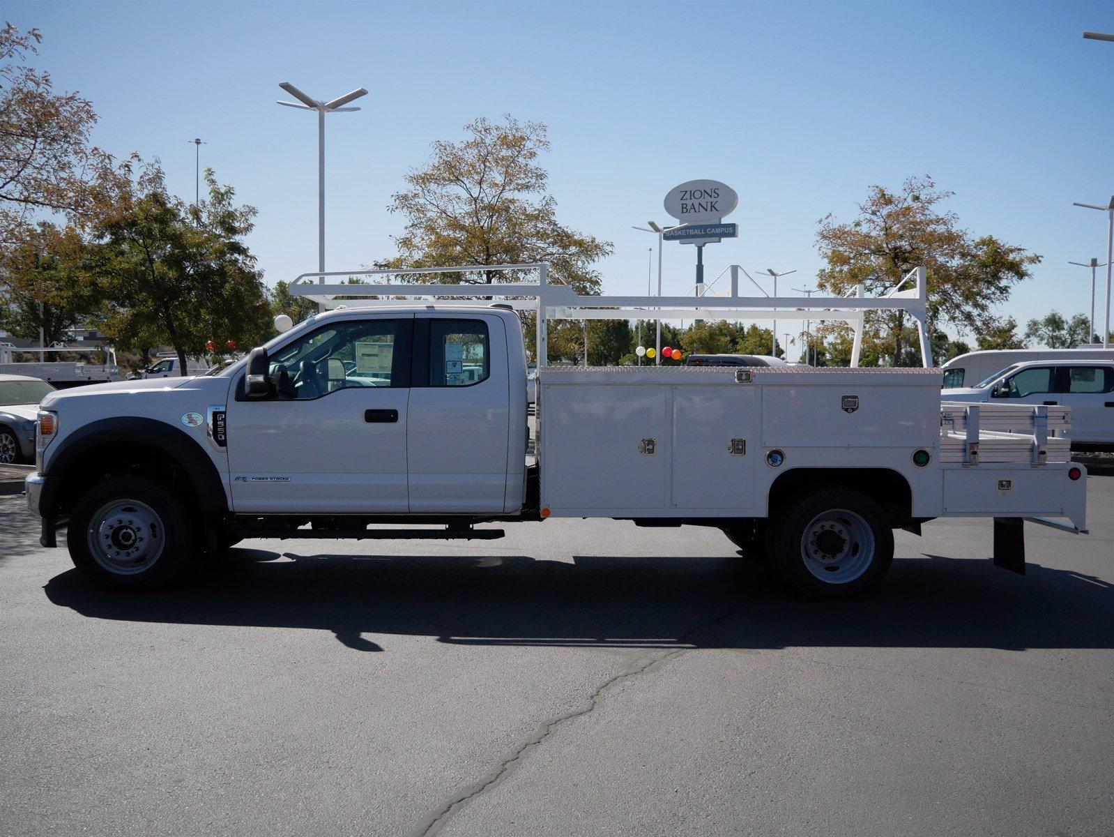 2020 Ford F-550 Super Cab DRW 4x4, Scelzi SEC Combo Body #63158 - photo 7
