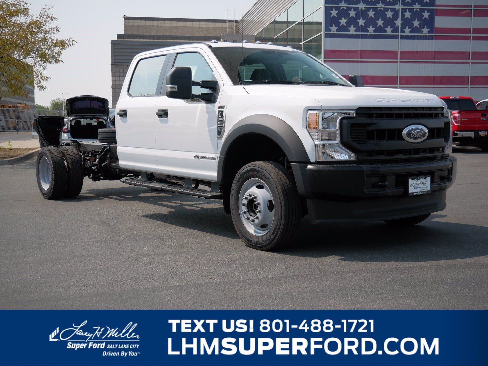 2020 Ford F-550 Crew Cab DRW AWD, Cab Chassis #63162 - photo 1