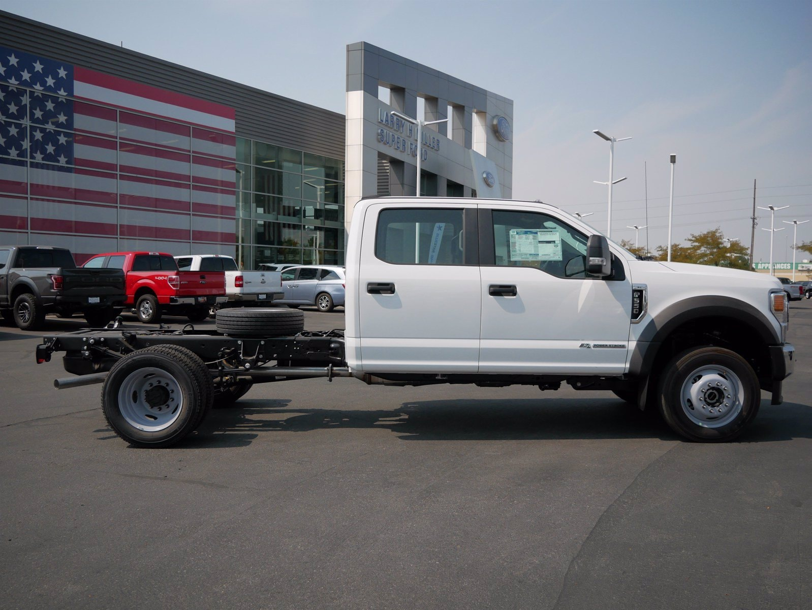 2020 Ford F-550 Crew Cab DRW 4x4, Cab Chassis #63169 - photo 3