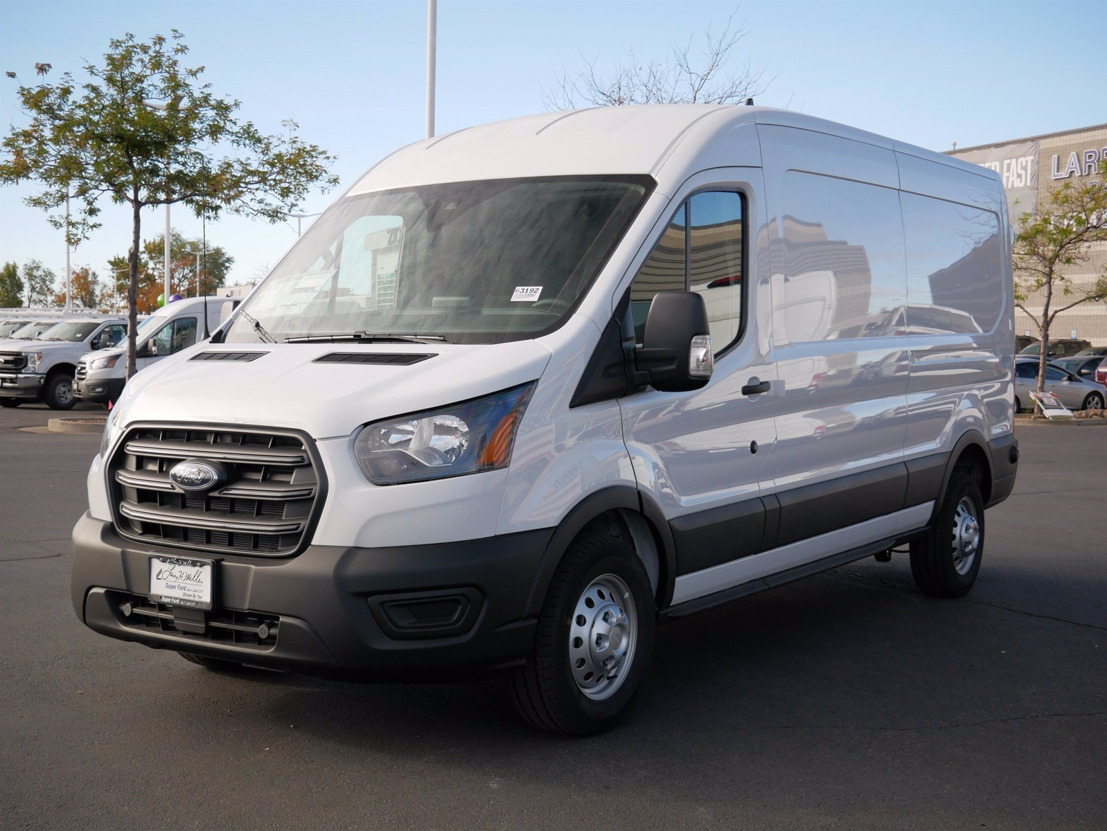 2020 Ford Transit 350 Med Roof AWD, Empty Cargo Van #63192 - photo 8