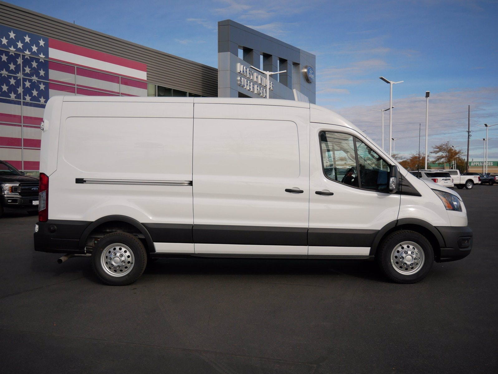 2020 Ford Transit 350 Med Roof AWD, Empty Cargo Van #63192 - photo 4