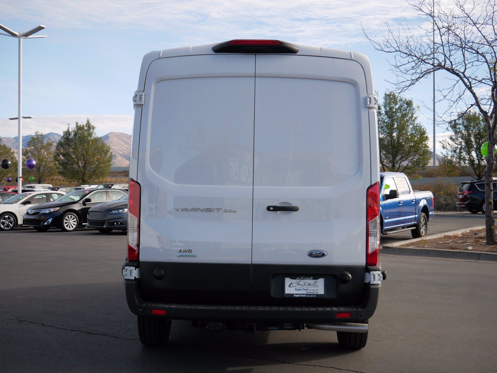 2020 Ford Transit 350 Med Roof AWD, Empty Cargo Van #63192 - photo 7