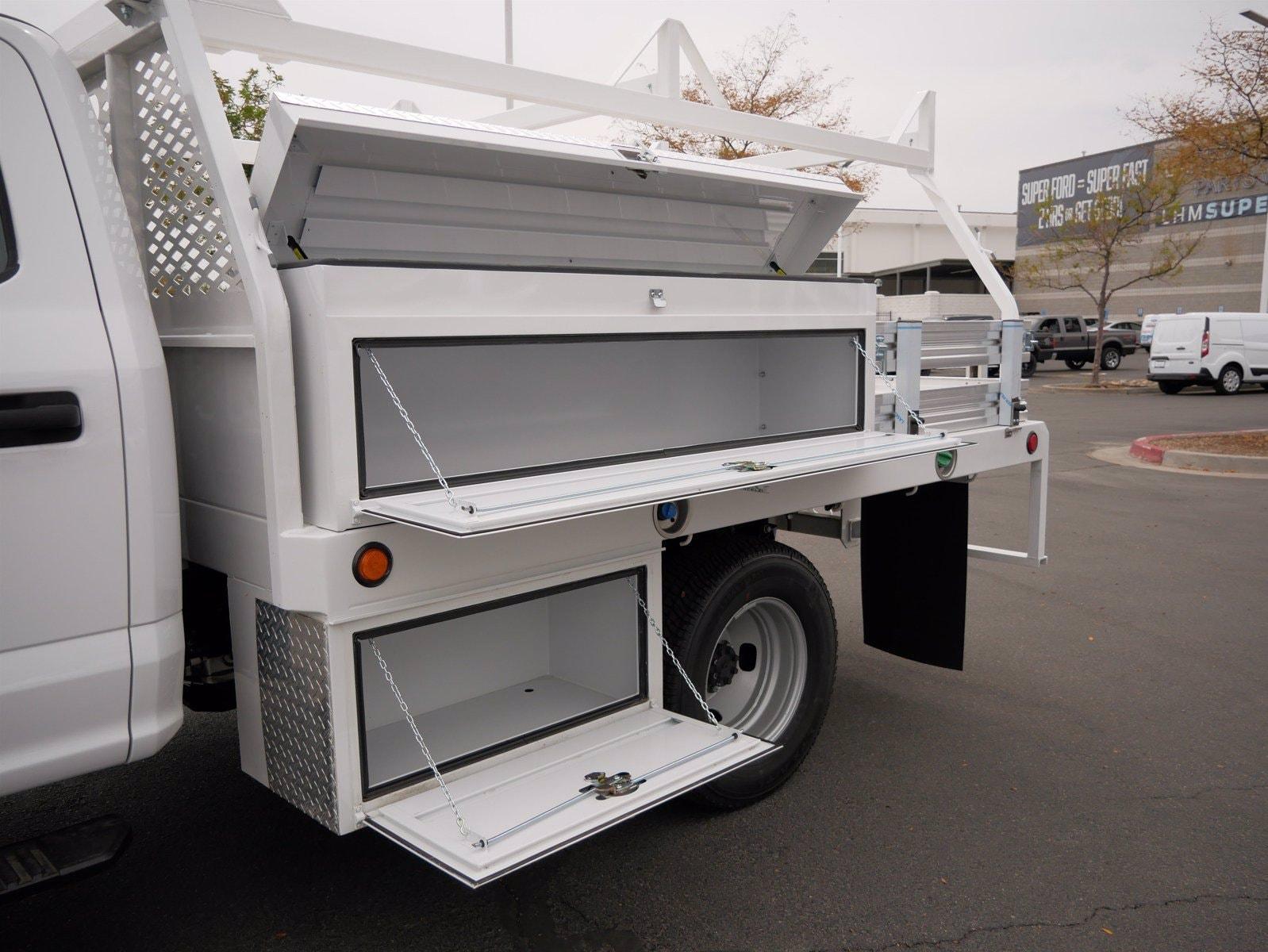 2020 Ford F-350 Crew Cab DRW 4x4, Scelzi CTFB Contractor Body #63200 - photo 29
