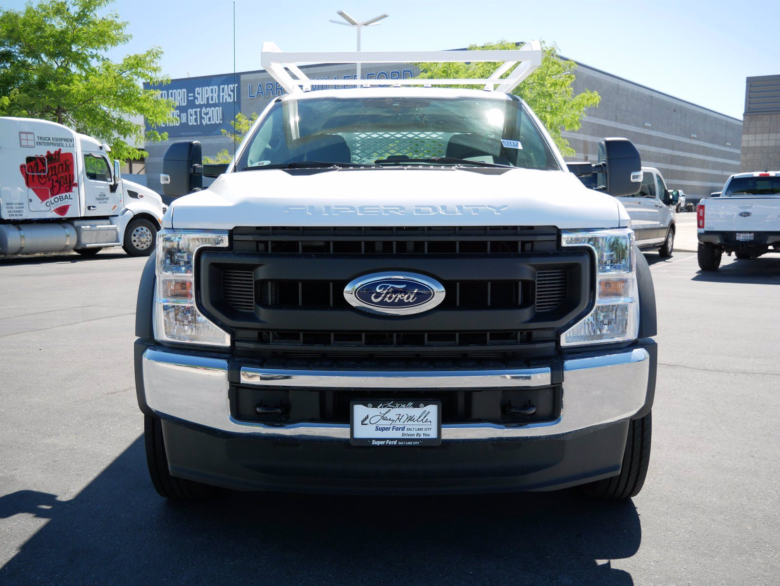 2020 Ford F-550 Crew Cab DRW 4x4, Scelzi SEC Contractor Body #63204 - photo 10