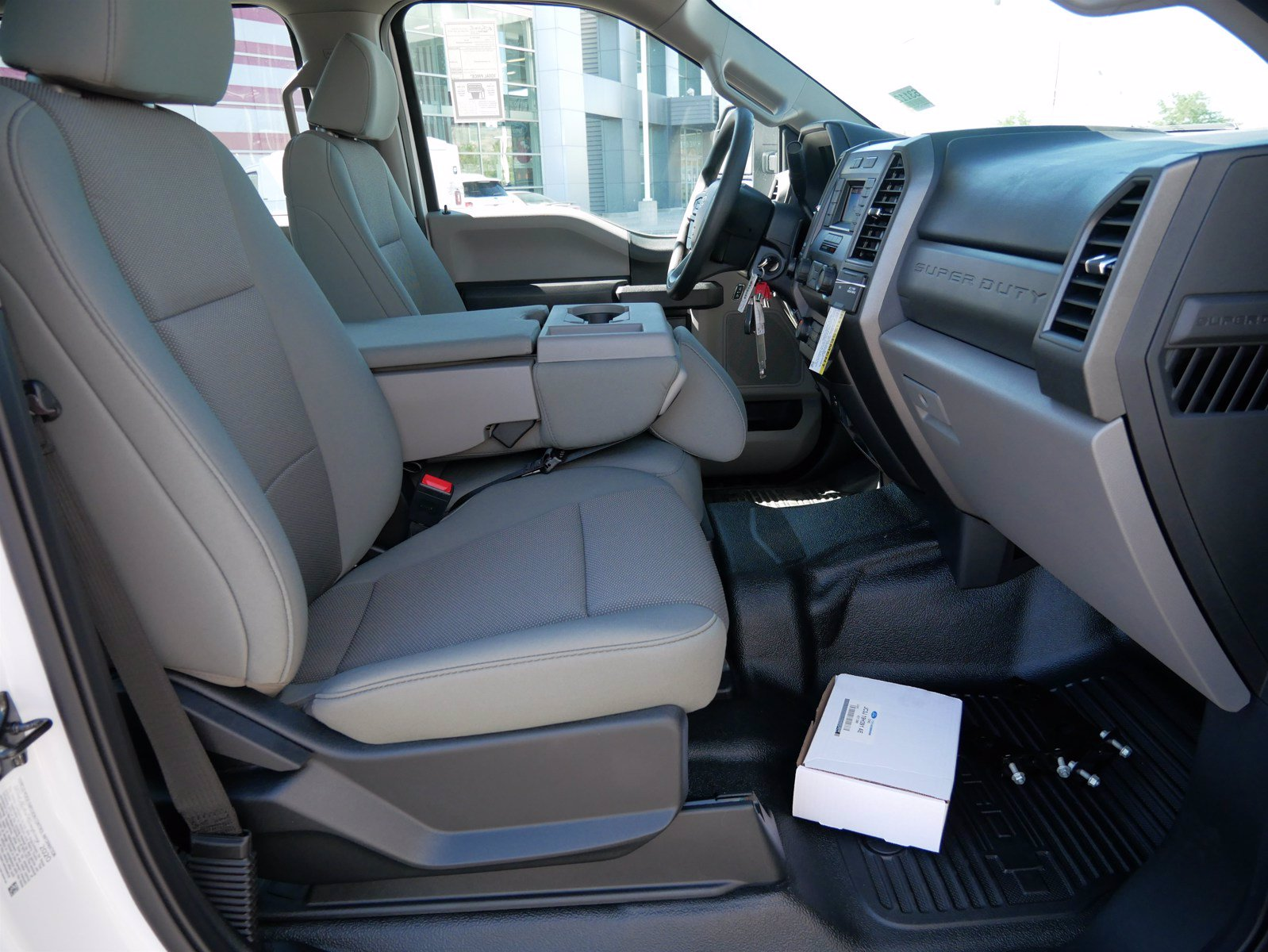 2020 Ford F-550 Crew Cab DRW 4x4, Scelzi SEC Contractor Body #63204 - photo 36