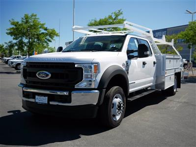 2020 Ford F-550 Crew Cab DRW 4x4, Scelzi SEC Contractor Body #63204 - photo 9