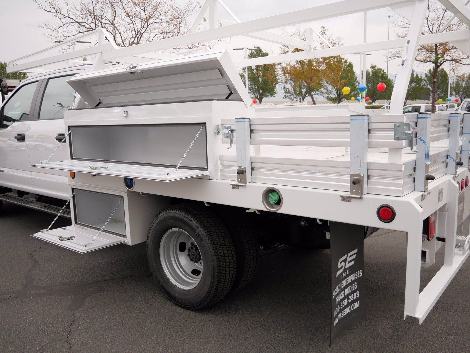 2020 Ford F-350 Crew Cab DRW 4x4, Scelzi CTFB Contractor Body #63220 - photo 23