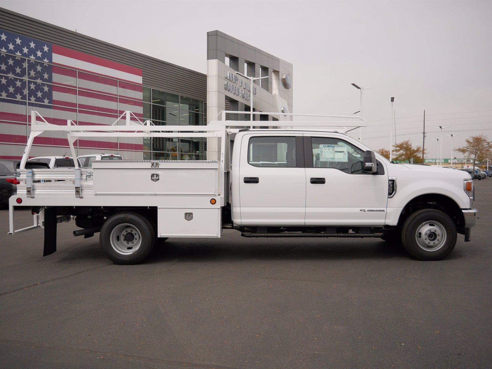 2020 Ford F-350 Crew Cab DRW 4x4, Scelzi CTFB Contractor Body #63220 - photo 3