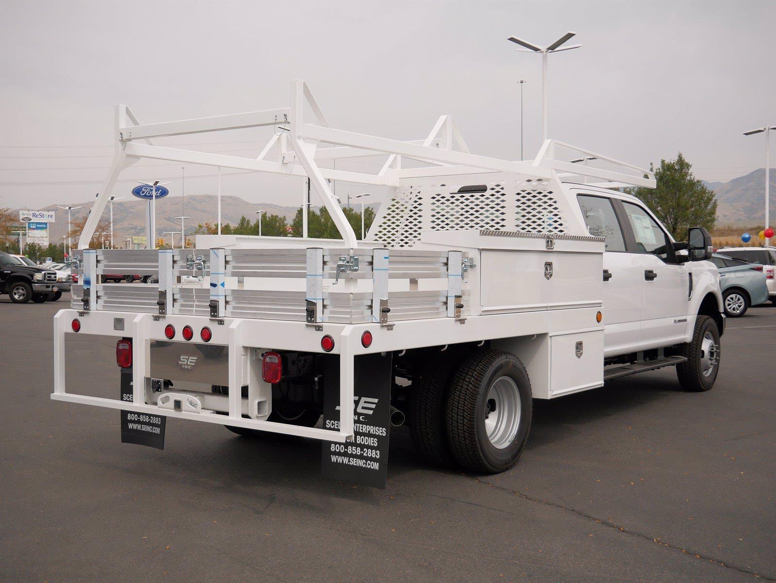 2020 Ford F-350 Crew Cab DRW 4x4, Scelzi Contractor Body #63220 - photo 1