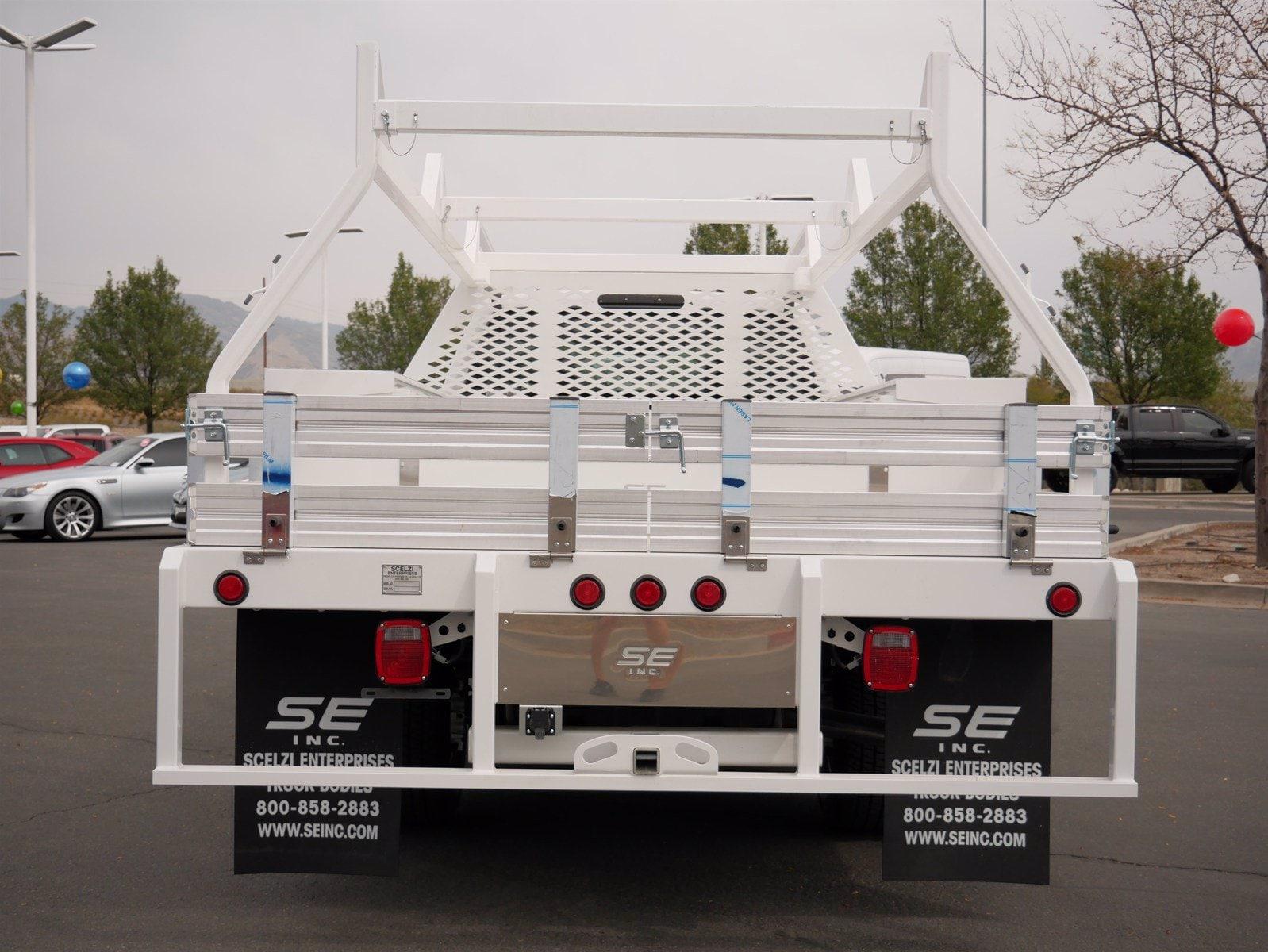 2020 Ford F-350 Crew Cab DRW 4x4, Scelzi CTFB Contractor Body #63220 - photo 4