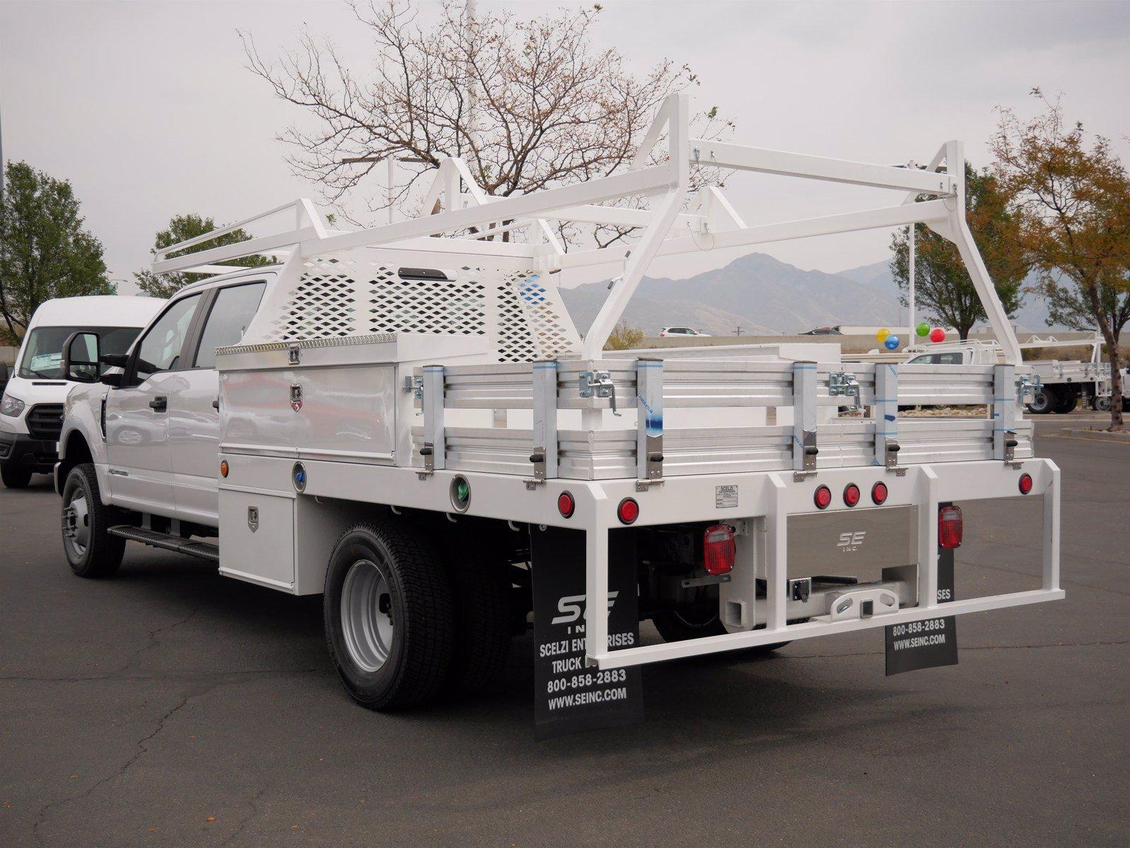 2020 Ford F-350 Crew Cab DRW 4x4, Scelzi CTFB Contractor Body #63220 - photo 5