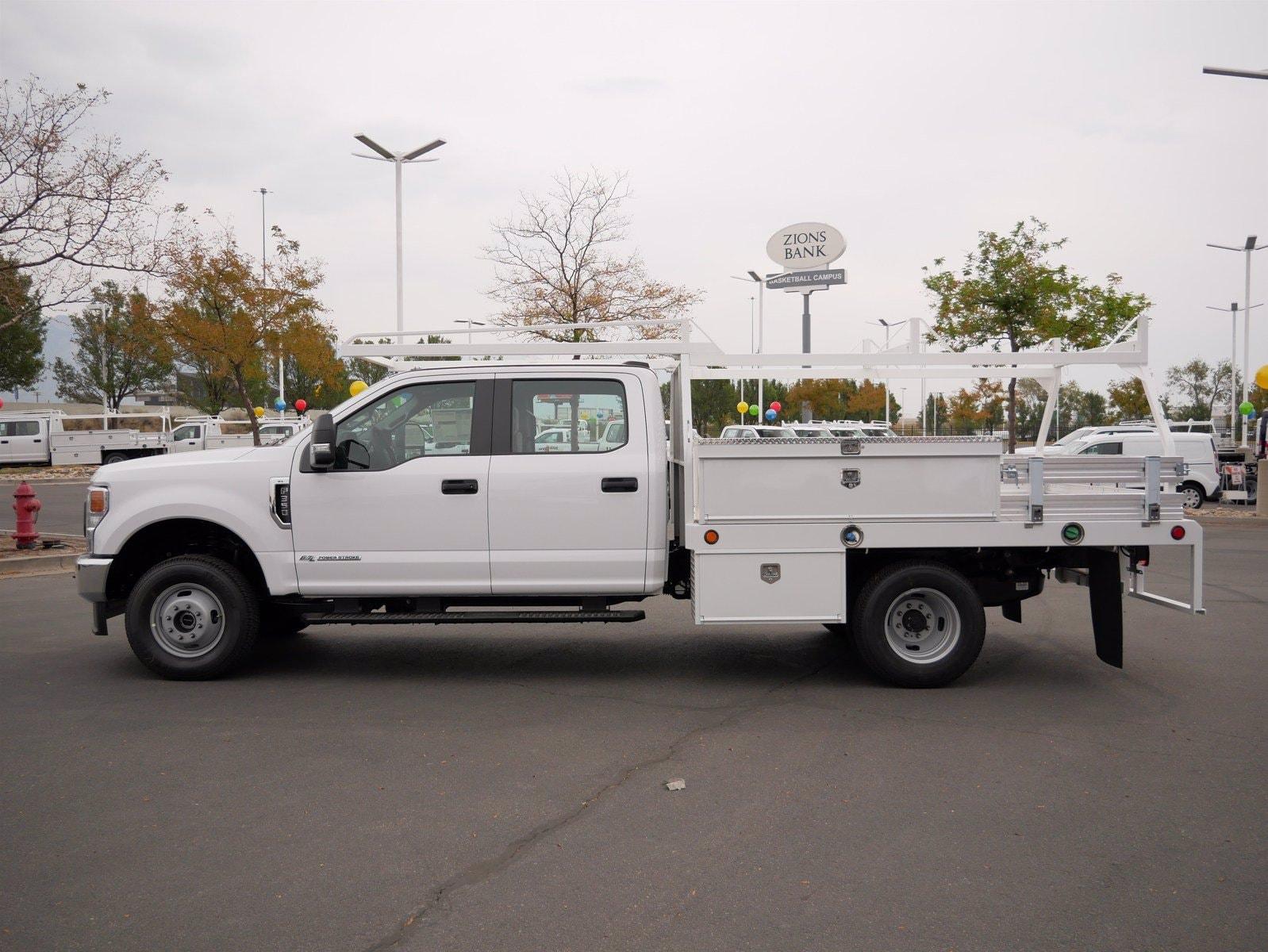 2020 Ford F-350 Crew Cab DRW 4x4, Scelzi CTFB Contractor Body #63220 - photo 6