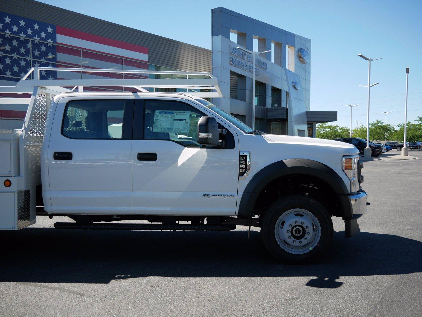 2020 Ford F-550 Crew Cab DRW 4x4, Scelzi SCTFB Contractor Body #63227 - photo 10
