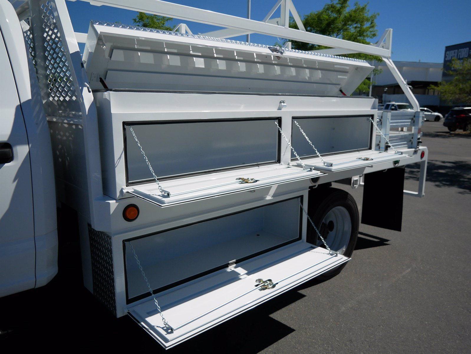 2020 Ford F-550 Crew Cab DRW 4x4, Scelzi SCTFB Contractor Body #63227 - photo 26