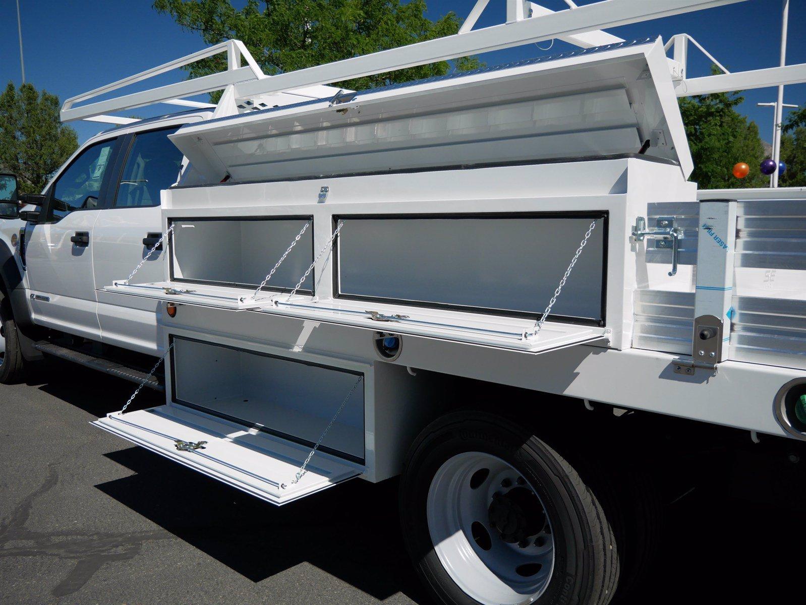 2020 Ford F-550 Crew Cab DRW 4x4, Scelzi SCTFB Contractor Body #63227 - photo 28