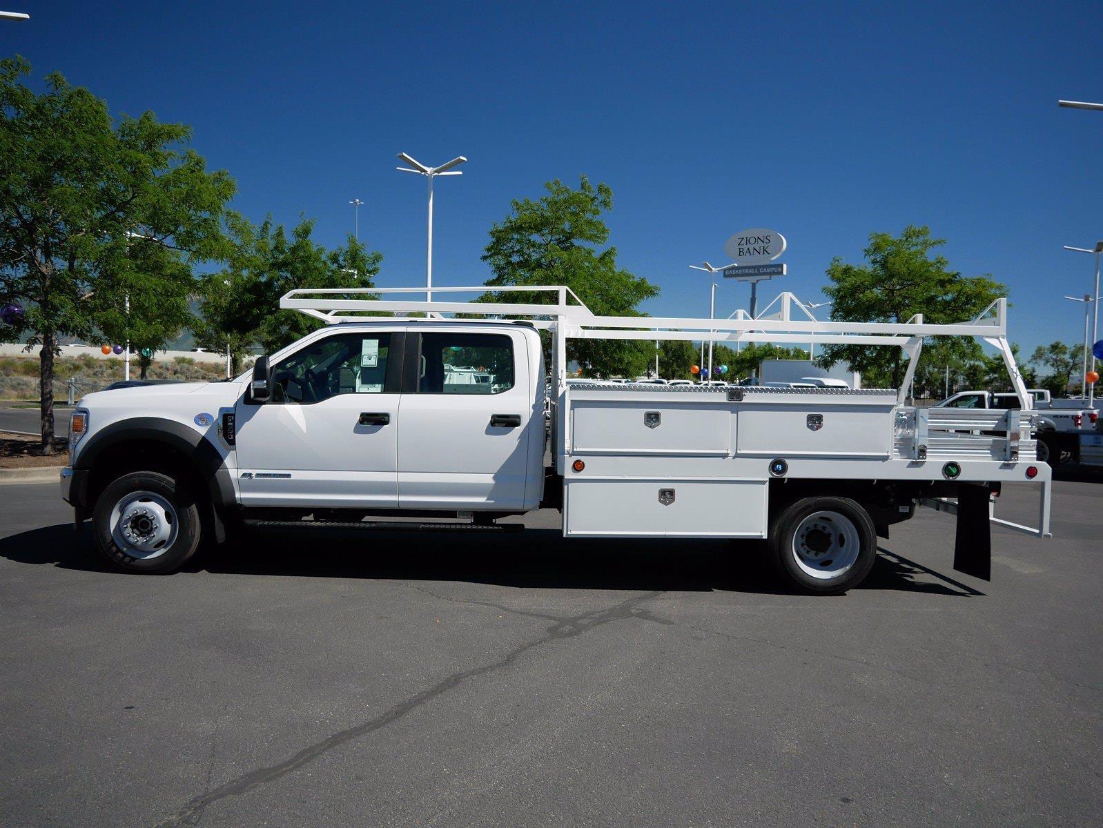 2020 Ford F-550 Crew Cab DRW 4x4, Scelzi SCTFB Contractor Body #63227 - photo 7