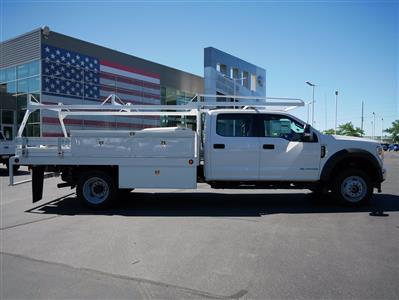 2020 Ford F-550 Crew Cab DRW 4x4, Scelzi SCTFB Contractor Body #63227 - photo 3