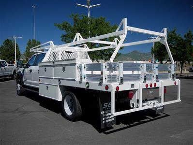 2020 Ford F-550 Crew Cab DRW 4x4, Scelzi SCTFB Contractor Body #63227 - photo 6
