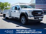 2020 Ford F-550 Crew Cab DRW 4x4, Scelzi SCTFB Contractor Body #63227 - photo 1