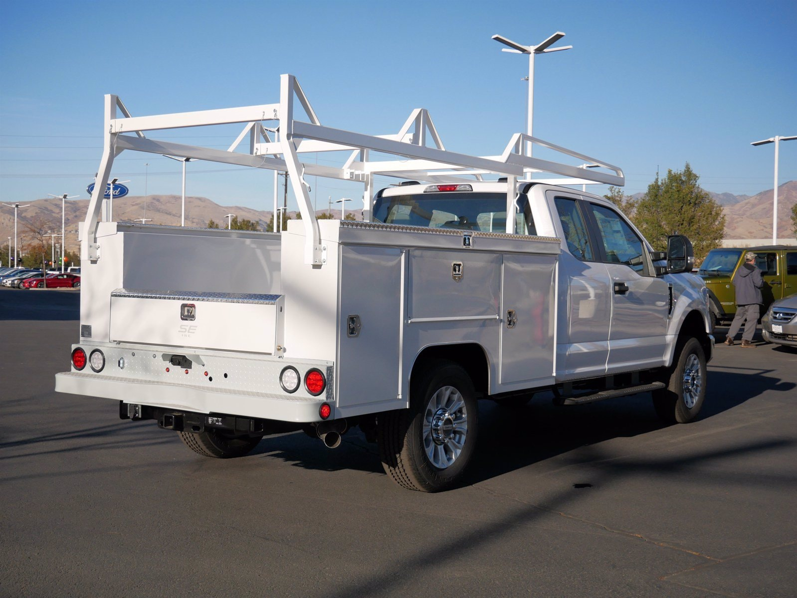 2020 Ford F-250 Super Cab 4x4, Scelzi Service Body #63228 - photo 1