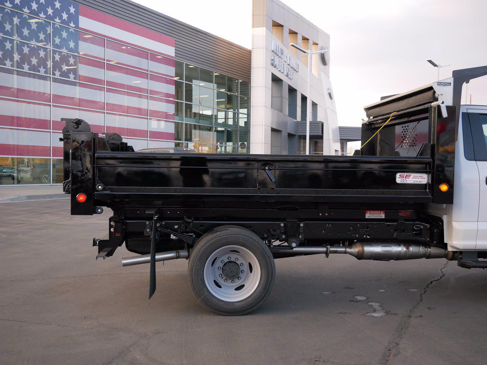 2020 Ford F-550 Regular Cab DRW 4x4, Scelzi Dump Body #63233 - photo 10