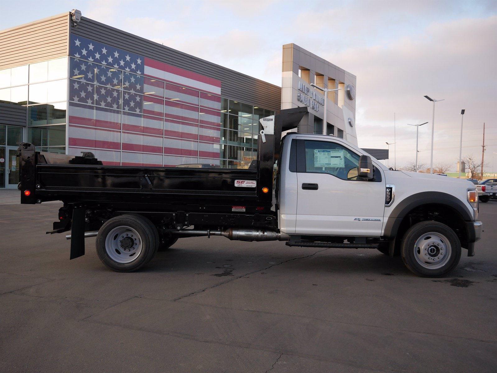 2020 Ford F-550 Regular Cab DRW 4x4, Scelzi Dump Body #63233 - photo 3