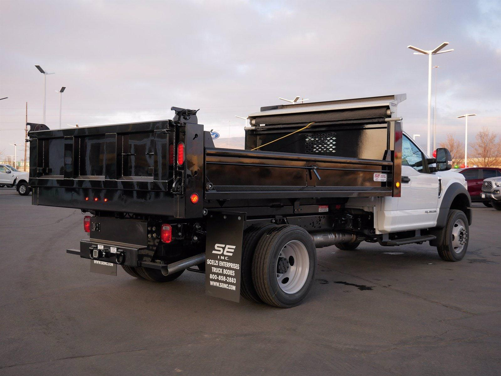 2020 Ford F-550 Regular Cab DRW AWD, Scelzi Dump Body #63233 - photo 4