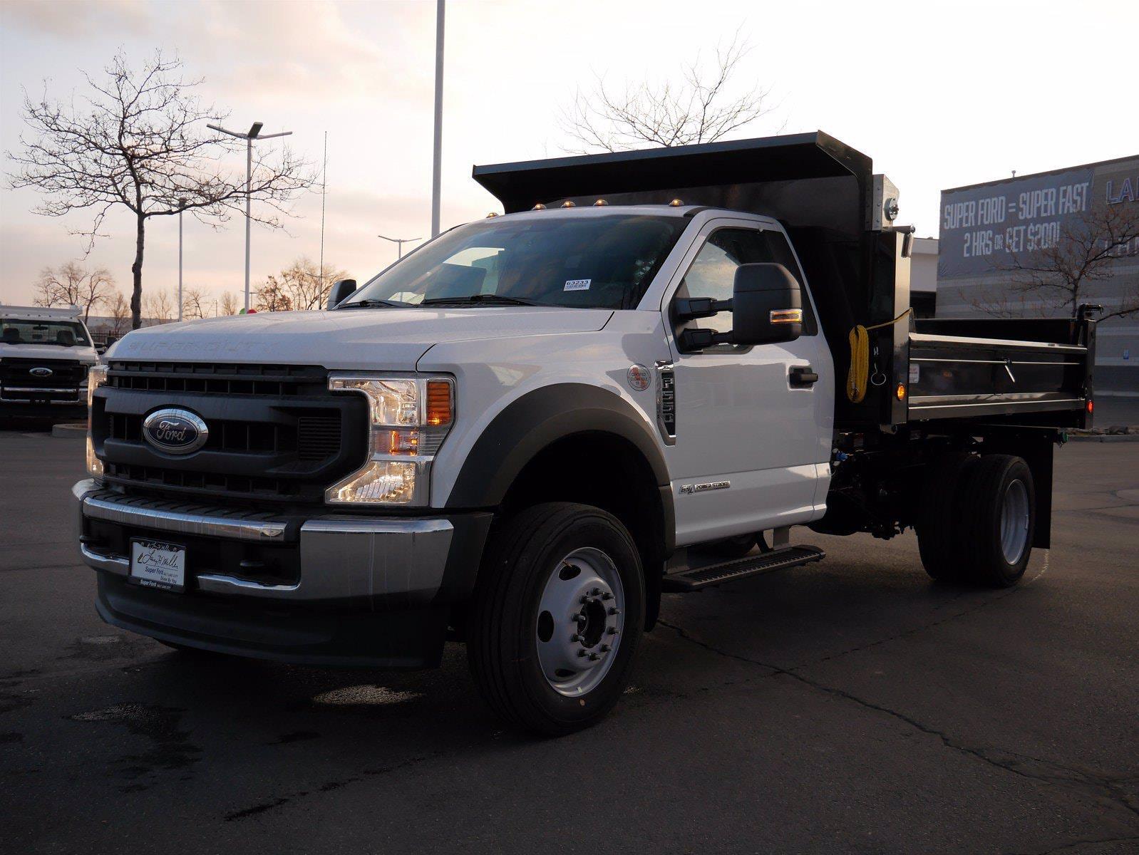 2020 Ford F-550 Regular Cab DRW 4x4, Scelzi Dump Body #63233 - photo 1