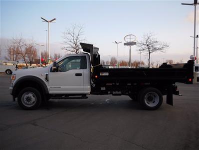 2020 Ford F-550 Regular Cab DRW 4x4, Scelzi Dump Body #63233 - photo 7