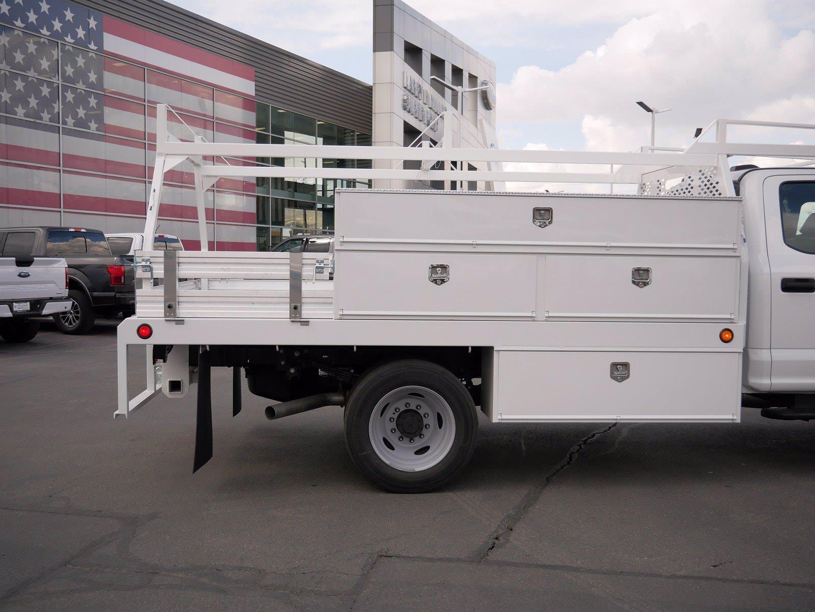 2021 Ford F-550 Crew Cab DRW 4x4, Scelzi SCTFB Contractor Body #64056 - photo 10