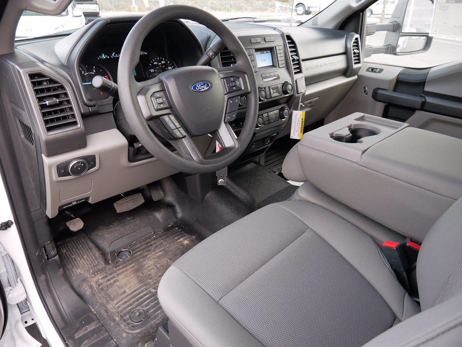 2021 Ford F-550 Crew Cab DRW 4x4, Scelzi SCTFB Contractor Body #64056 - photo 12