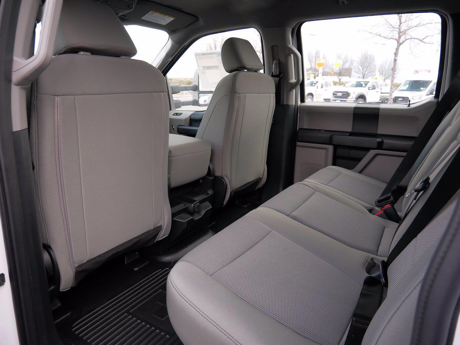 2021 Ford F-550 Crew Cab DRW 4x4, Scelzi SCTFB Contractor Body #64056 - photo 23