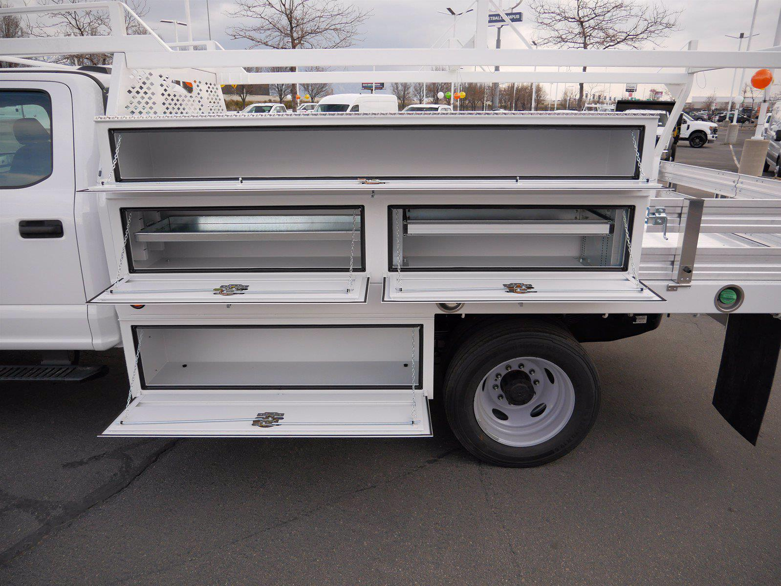 2021 Ford F-550 Crew Cab DRW 4x4, Scelzi SCTFB Contractor Body #64056 - photo 25